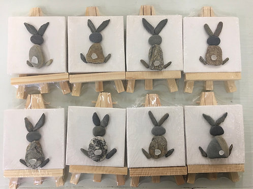 DIY Maine Bunny Ocean Art Kit