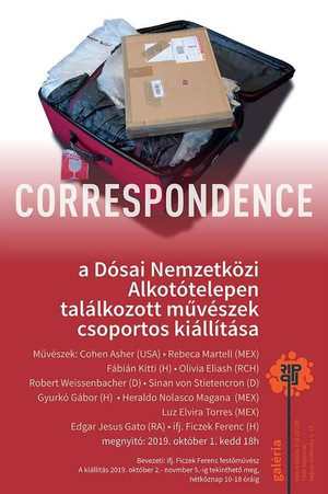 Correspondence in Pecs, Hungary