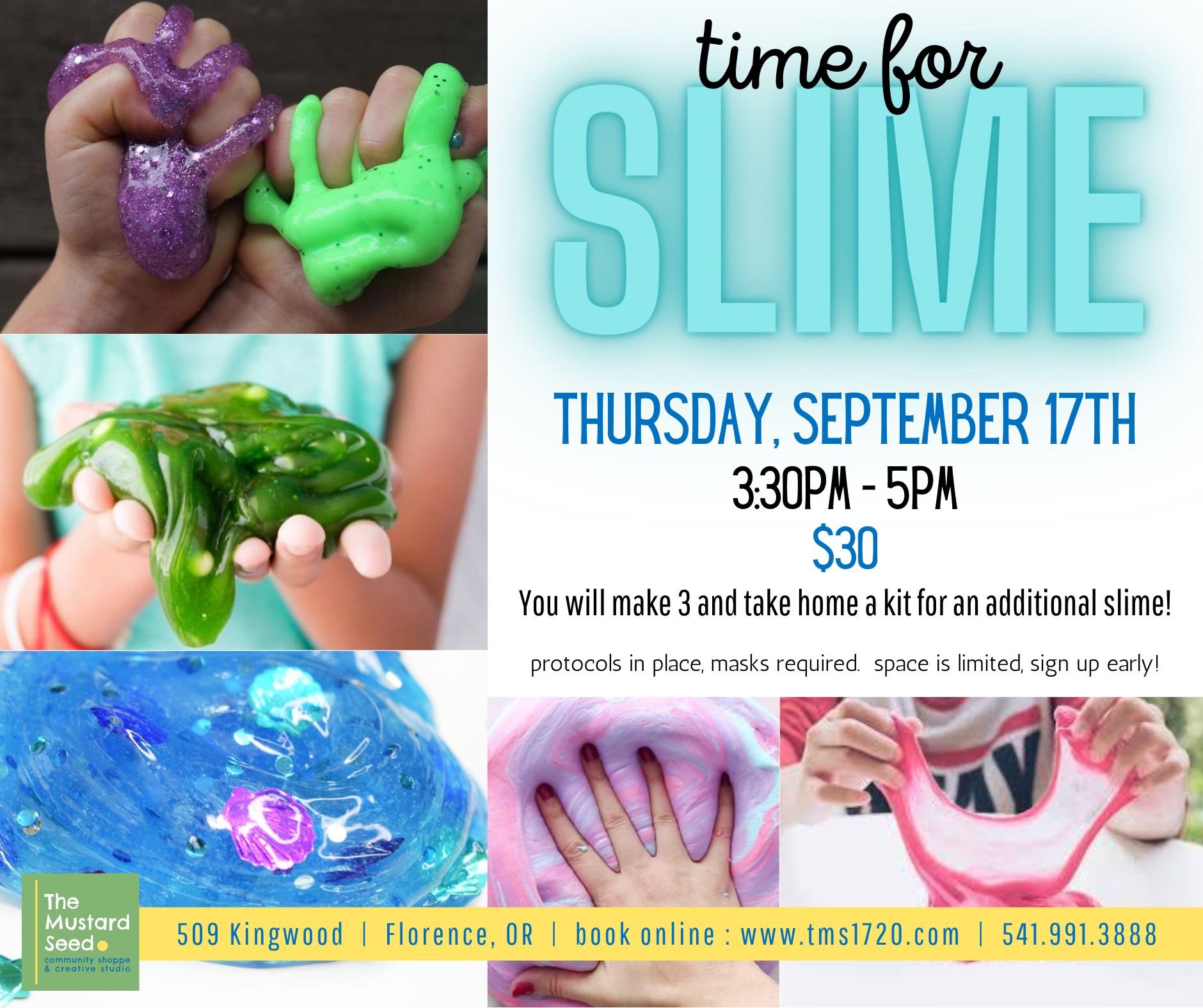 time for slime