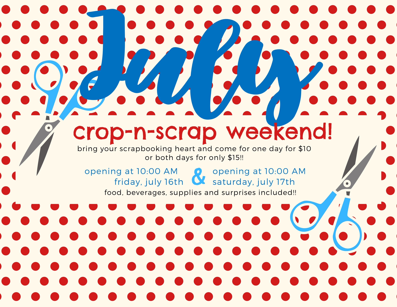 Crop-n-Scrap July