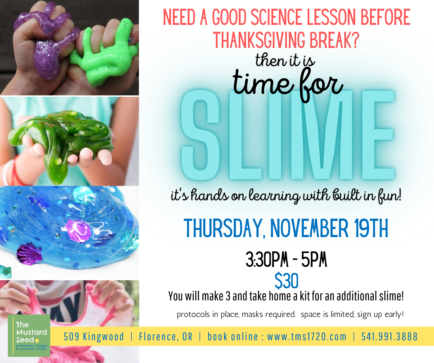 slime nov lesson