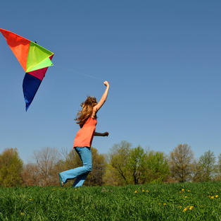 grab a kite and ride the wind!
