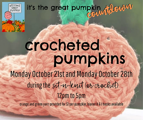 crocheted pumpkins at sitnknit.png
