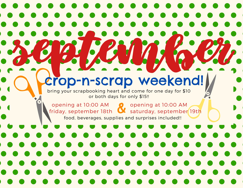 crop n scrap september