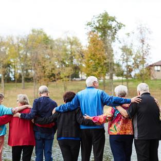 celebrate a senior citizen today!