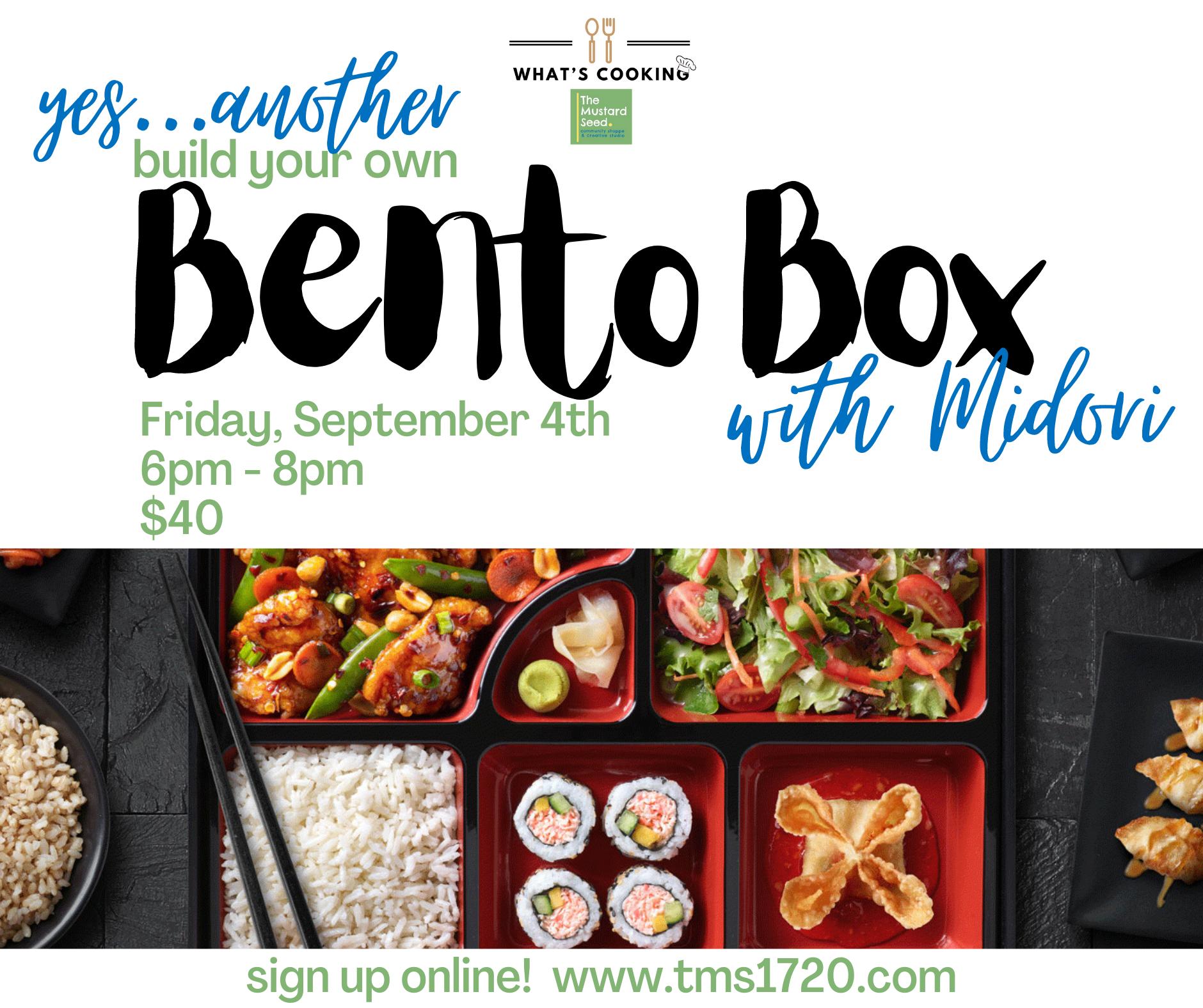 Bento Box Sept 4
