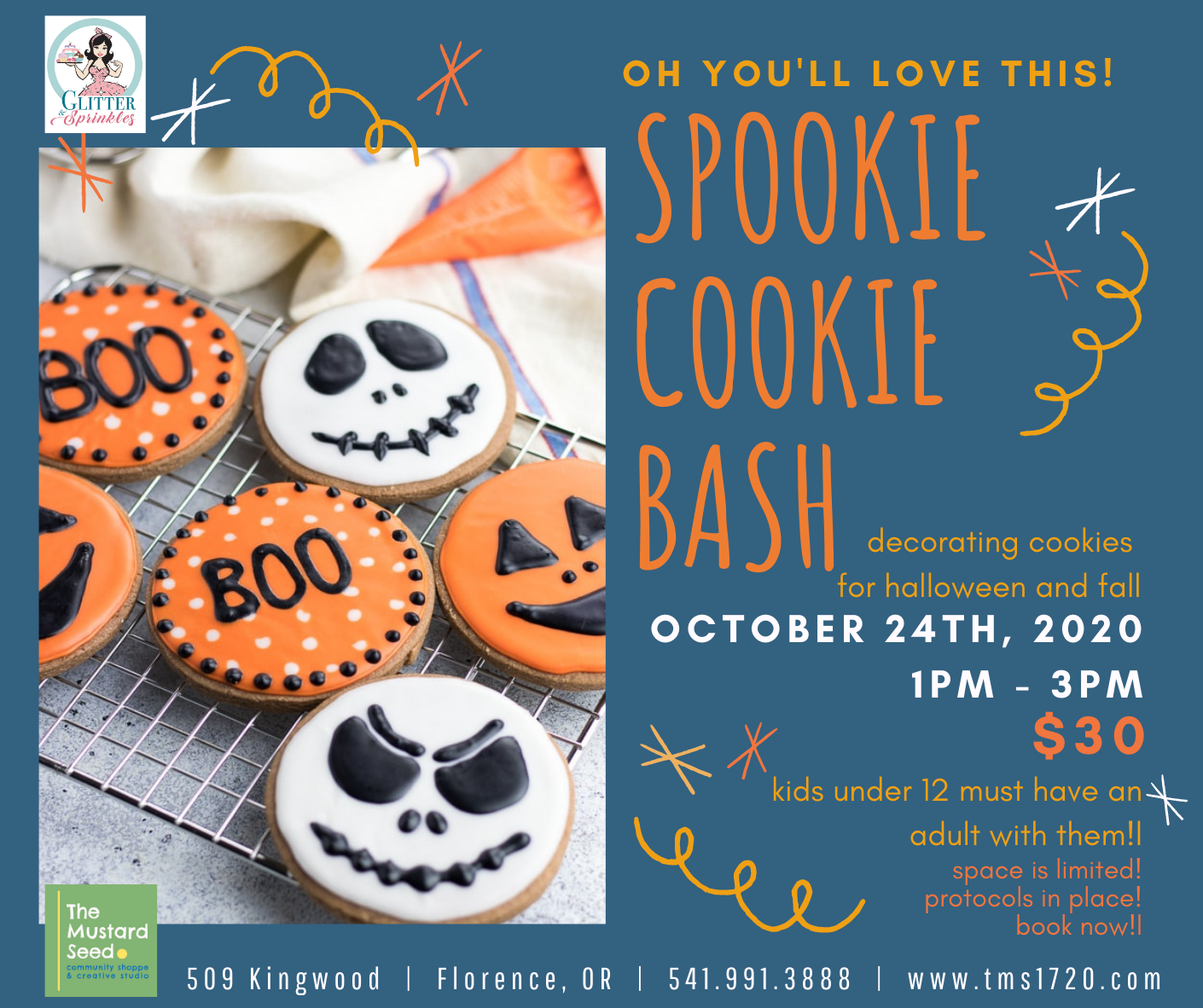 spookie Cookie Bash