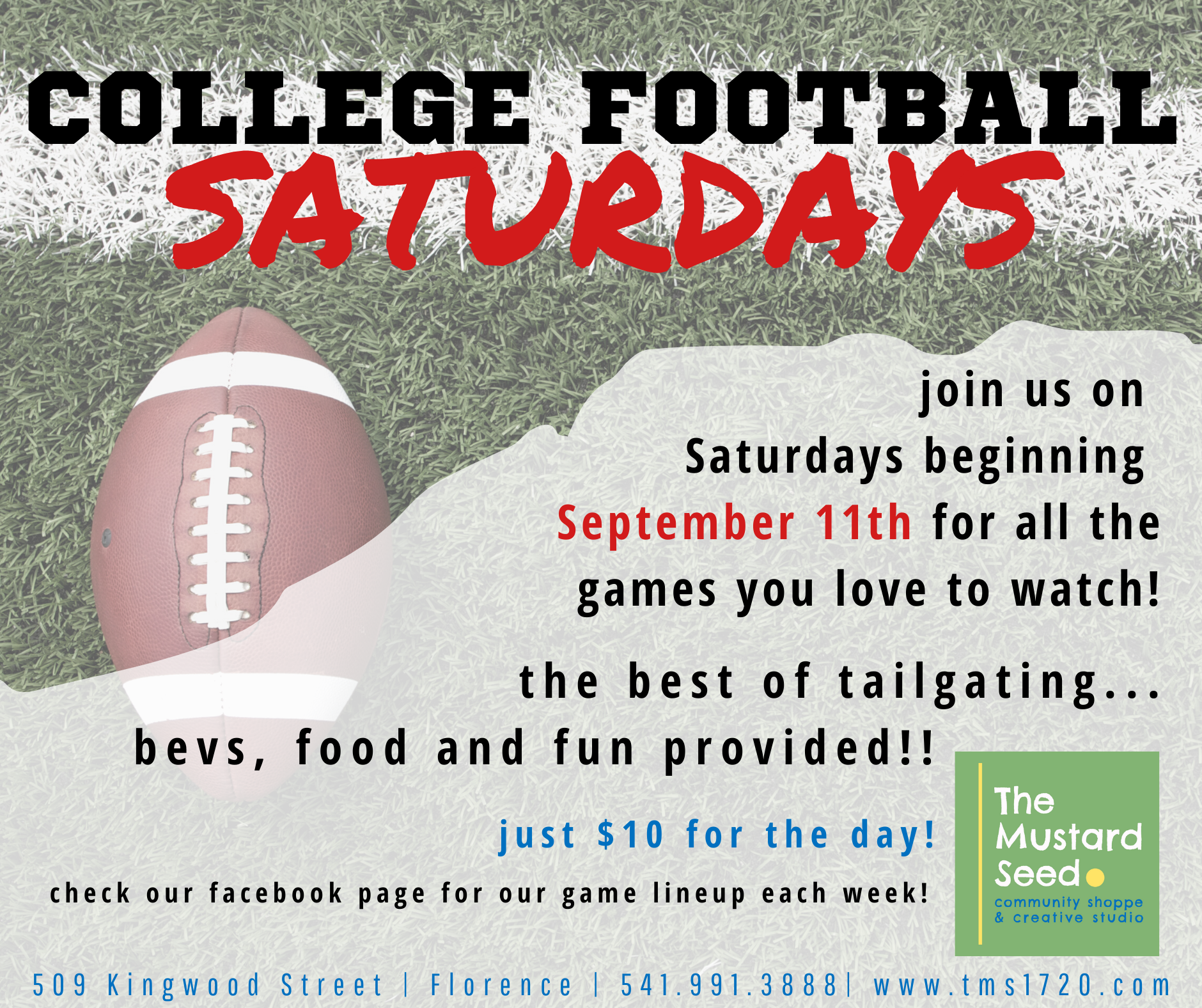 College Football Watch Party