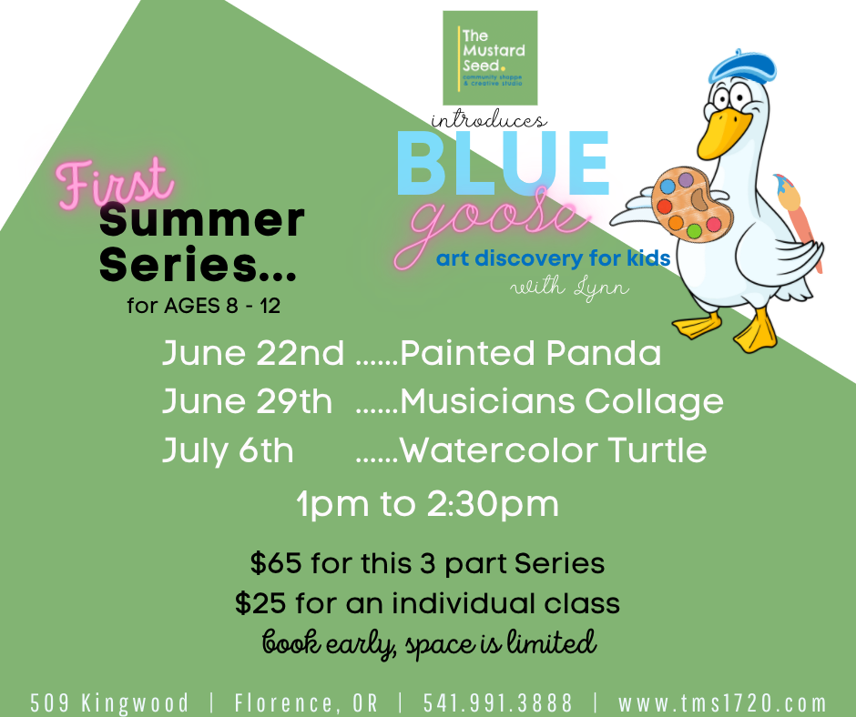 Blue Goose Kids - Watercolor Turtle ONLY