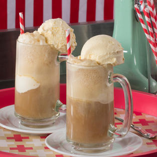 Enjoy a root beer float today!