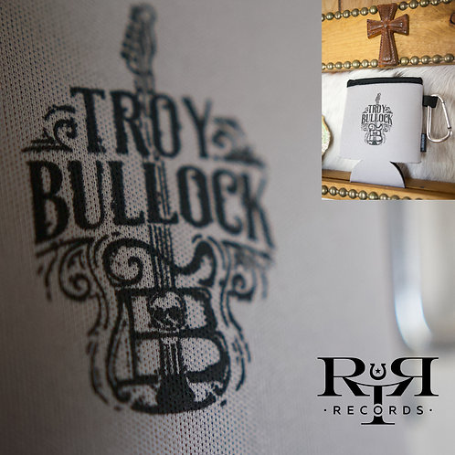 Troy Bullock Collapsible Koozie® Can Kooler w/ Carabiner