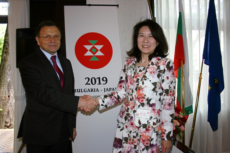 ブルガリア大使と理事長