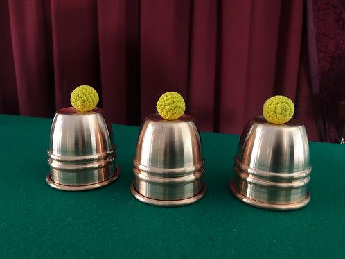 Ried Michl´s Close Up Cups Copper satin finish