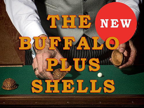 The Buffalo Plus Shellgame Set