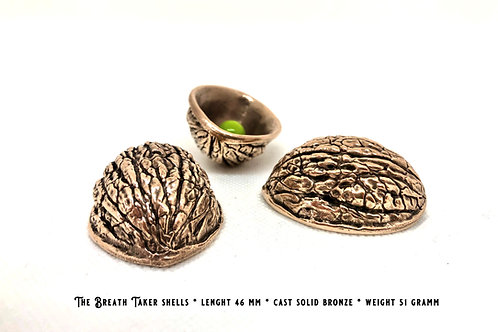 The Breath Taker Shells 46 mm solid cast bronze