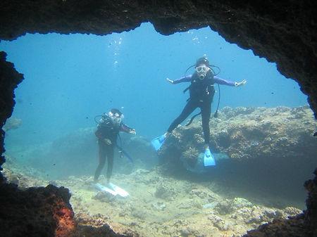ノースショア体験ダイビング