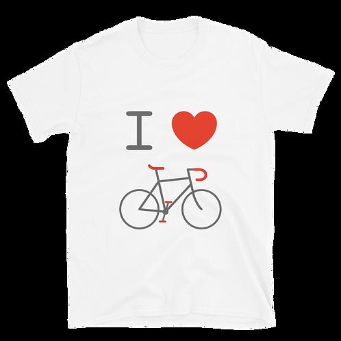 I love bikes. Short-Sleeve Unisex T-Shirt