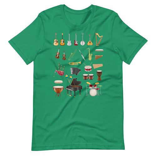 Musical instruments. - Short-Sleeve Unisex T-Shirt