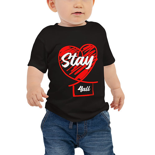 Stay 4all - COVID-19 - Baby Jersey Short Sleeve Tee