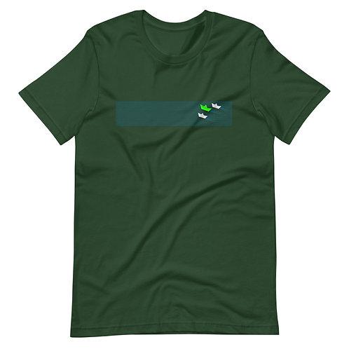 Paper sails. - Short-Sleeve Unisex T-Shirt