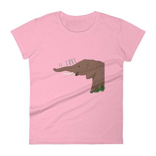 Is Love. - Women's short sleeve t-shirt