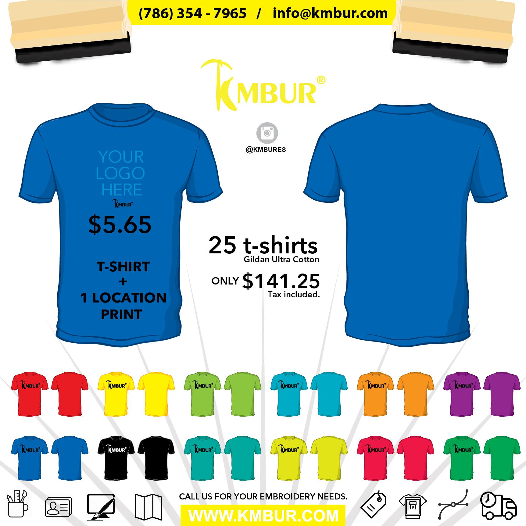 KMBUR Deal tshirt+ 1 location print-01