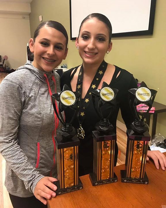 So proud of my babies and their achievements at Starbound Competition last night! Alexa scored an ELITE gold in the Elite 13-14 division wit