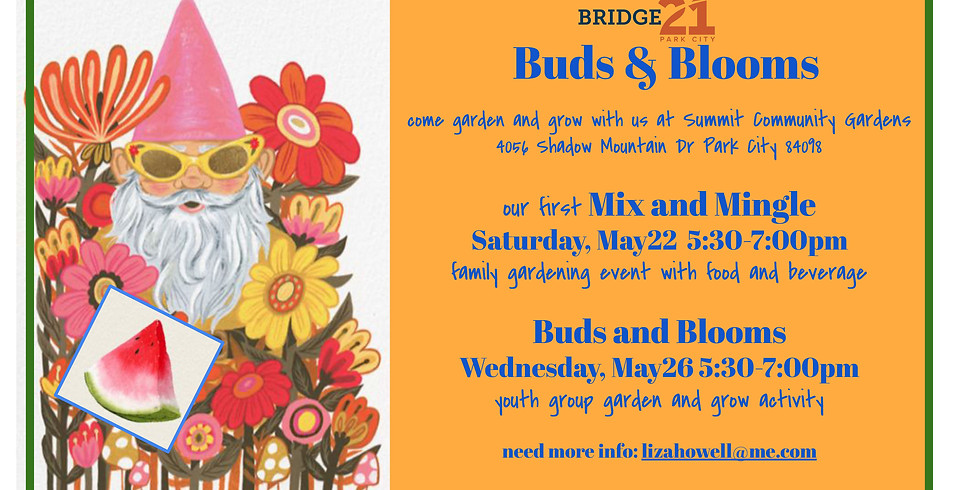 Buds and Blooms: Mix and Mingle