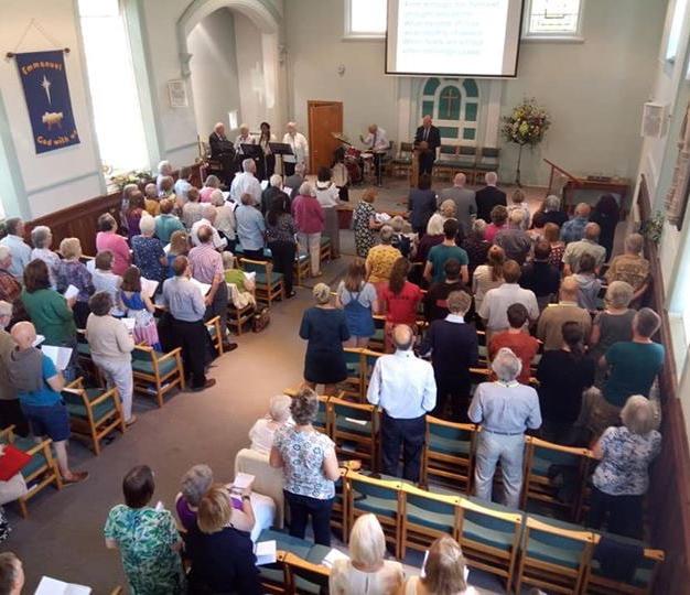 Induction service for Rev Amanda Rhodes Sept 2019