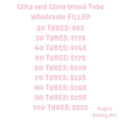 Glitz and Glam Wand Tube Wholesale FILLED