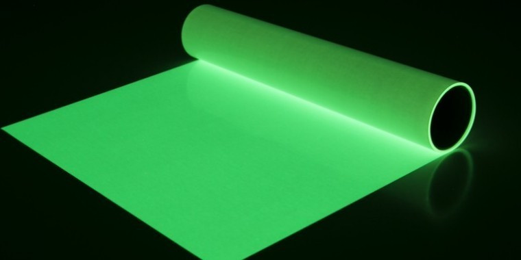 Glowing Vinyl available through Acme Signs