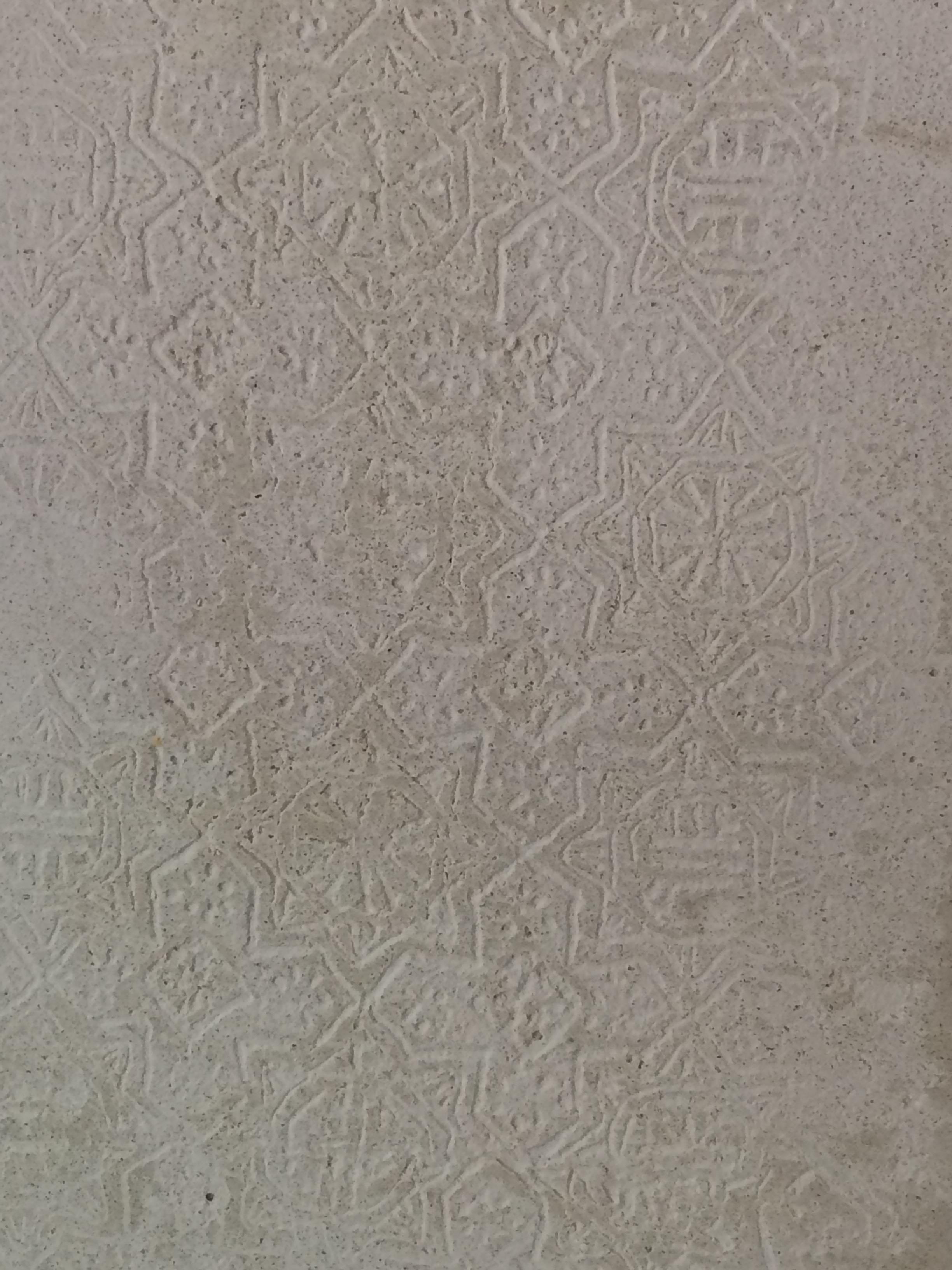 Tadelakt / Stamping