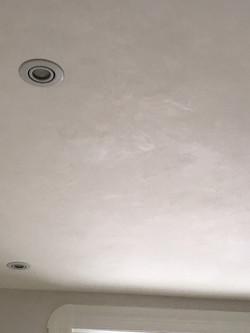 Plafond en Marmorino
