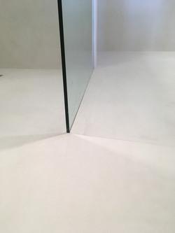 Plancher douche en Micro Ciment