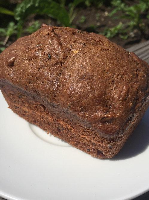 Mini-pains aux courgettes et chocolat