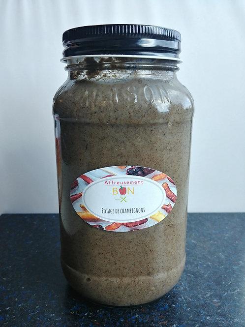 Potage de champignon
