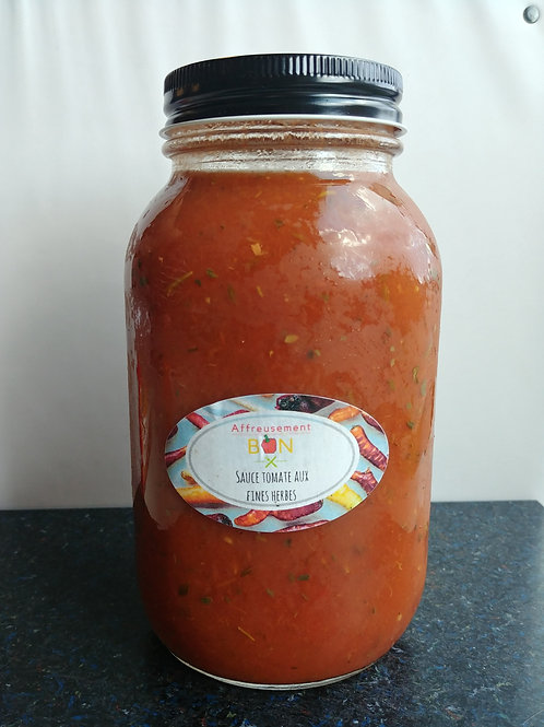 Sauce tomate aux fines herbes
