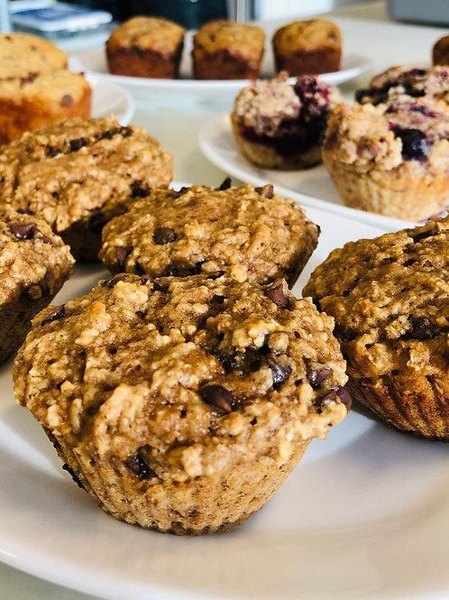 Muffins au yogourt et chocolat