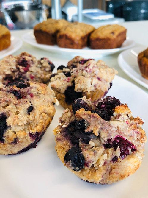Muffins aux petits fruits