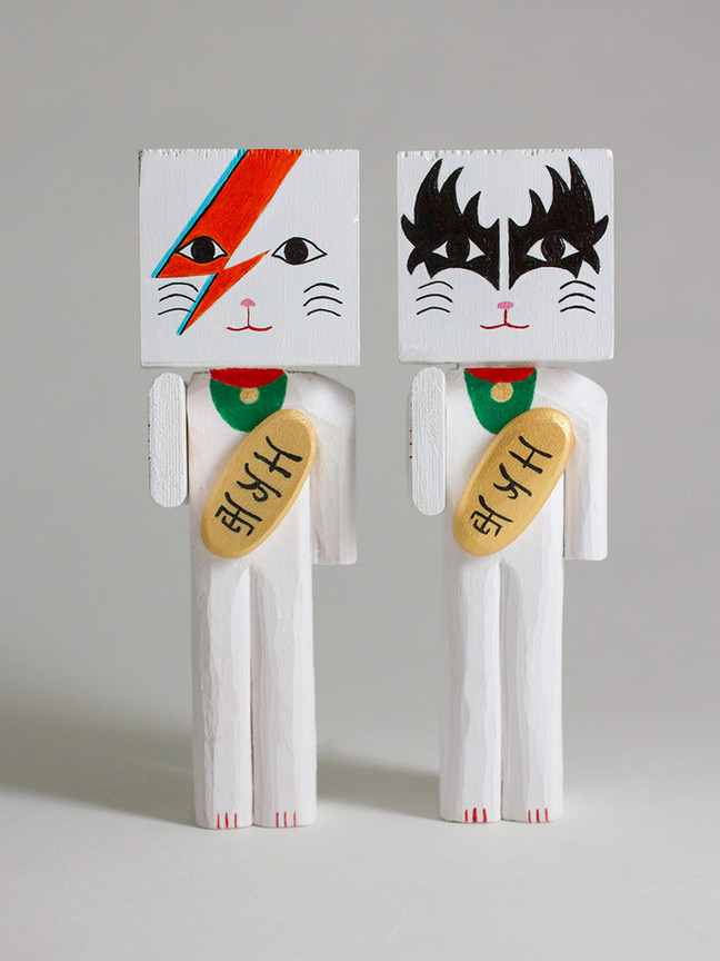 Ziggy Cat & Kiss Cat