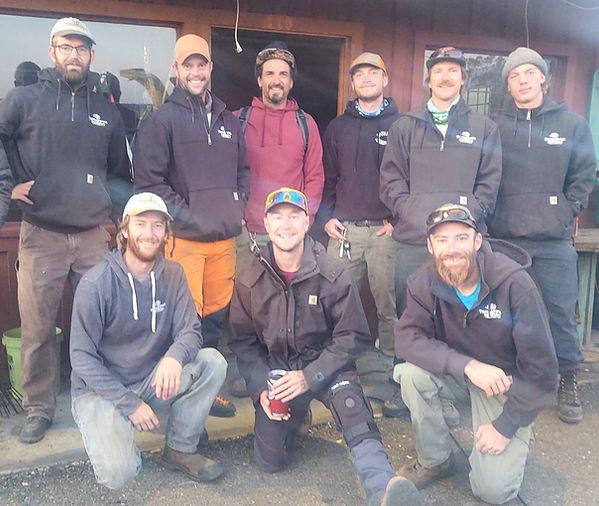 Tree Service Crew in Salida and Buena Vista Colorado