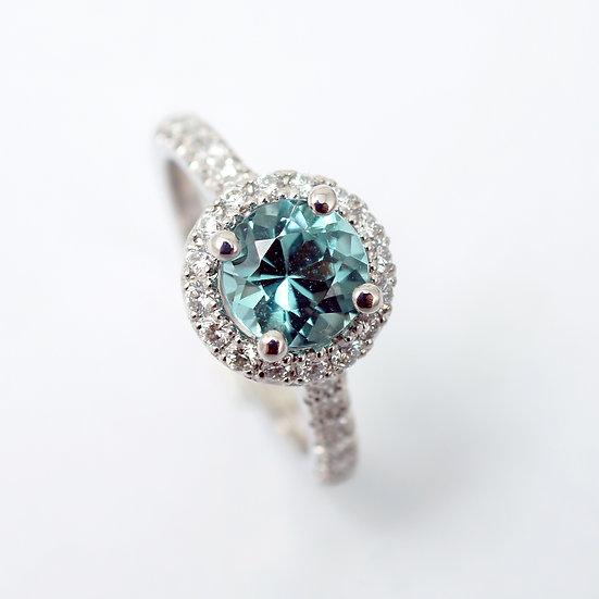 """Pierścień """"Idealny błękit"""""""