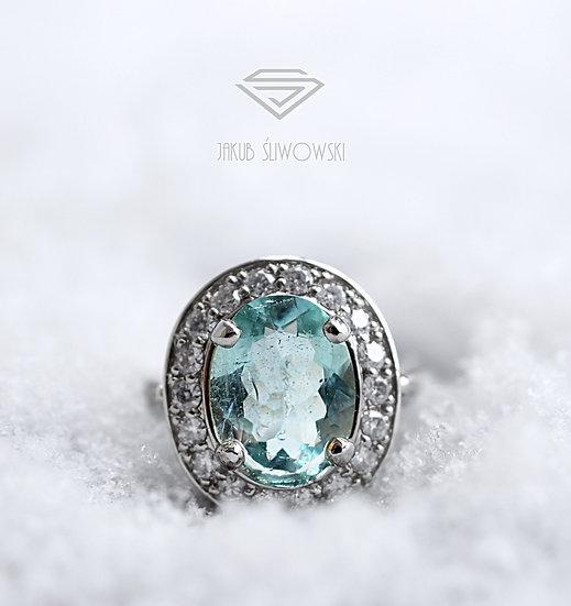 """Pierścień """"Królowa śniegu"""""""