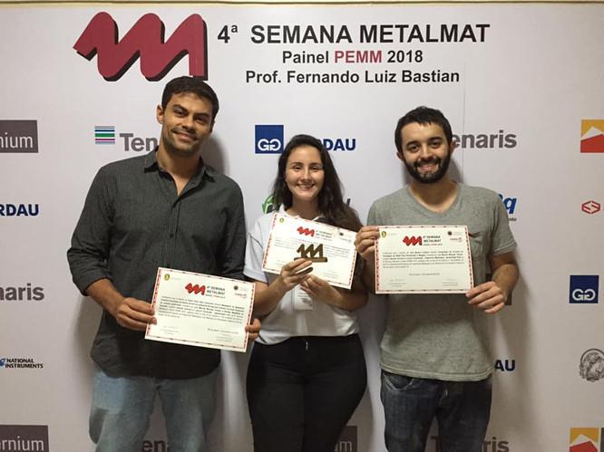 Premiação 4° Semana Metalmat