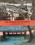 Thomas Lail/Michael Oatman: The Oatman -Lail Newshour The Teaching Gallery 2009