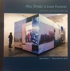 Jennifer and Kevin McCoy: Abu Dhabi is Love Forever The Teaching Gallery 2012 essay by Thomas Lail