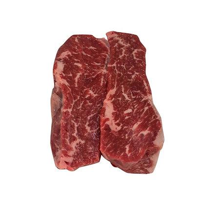 3/4 lb Strip Steak USDA Prime Fresh Boneless Beef | $22.99/lb