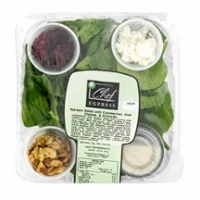 Chef Express RTE Salad Spinach w/ Cranberry, Goat Cheese, & Almond | $0.77/oz
