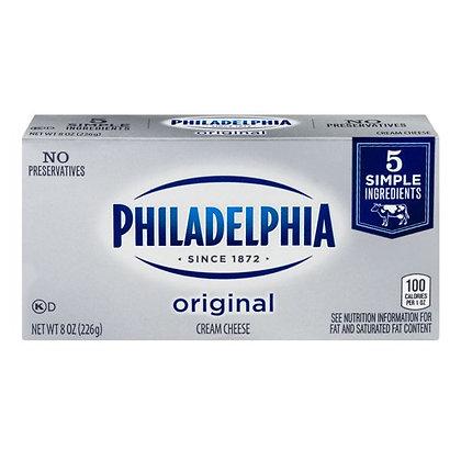 8 oz Kraft Philadelphia Original Cream Cheese | $0.55/oz