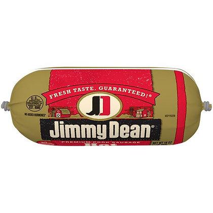 16 oz Jimmy Dean Premium Pork Hot Sausage Roll | $5.19/lb
